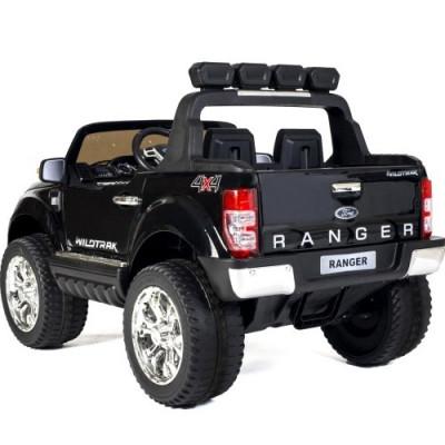 Ford Ranger Wildtrak 4WD electric child 12V screen MP4 Metallic Black