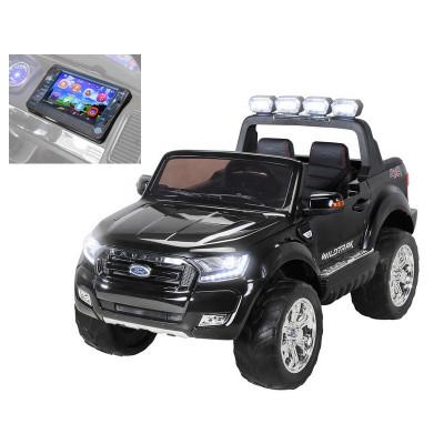 Ford Ranger Wildtrak 4WD électrique enfant 12V écran MP4 Noir Métallisé Ford FORD17/NOIR