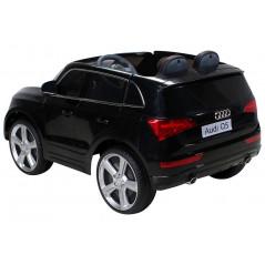 Audi Q5 voiture électrique enfant 12 Volts Noire avec télécommande parentale