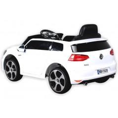 Golf GTI Voiture électrique Pour enfant 12 Volts Blanche