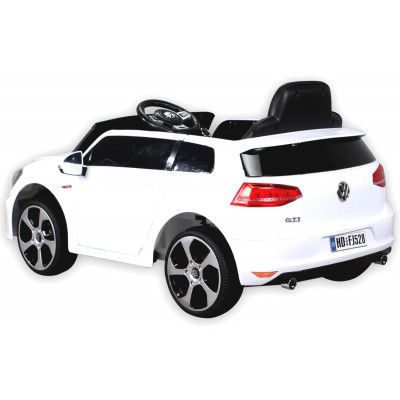 Golf GTI Electric car For children 12 Volts White