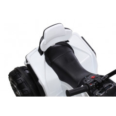 Electric Quad for children 12 Volts White with parental remote control