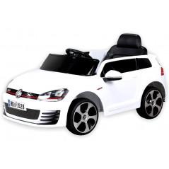 Golf GTI Voiture électrique Pour enfant 12 Volts Blanche Voitures électriques enfants GOLF/BLANC