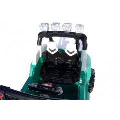 Police Interceptor blanc voiture électrique enfant 12 Volts avec télécommande parentale