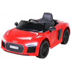 Audi R8 Spyder 12 volts rouge voiture électrique enfant télécommande Voitures électriques enfants R8/ROUGE