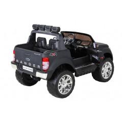 Ford Ranger Wildtrak 4WD Noir Mat Electrique Pour enfants 12 Volts écran MP4