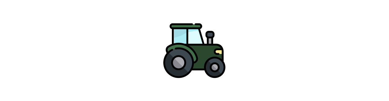 Electric tractors for children with 12 volt battery